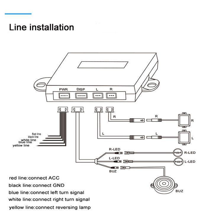 Cisbo Bsd Blind Spot Detection Lane Change Assist System